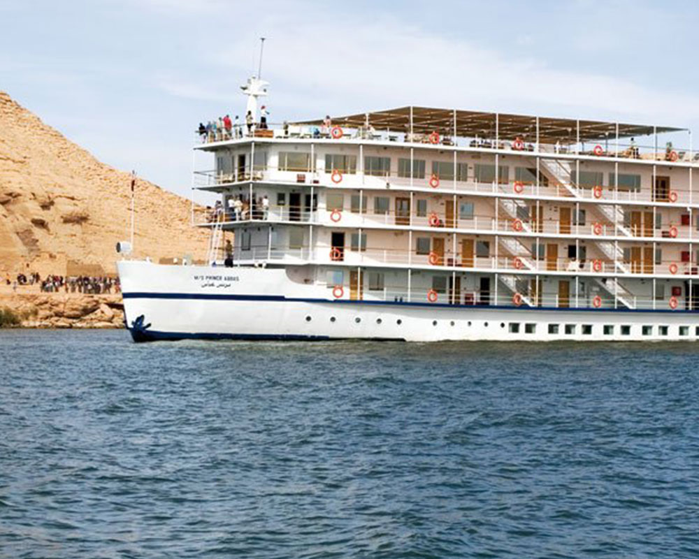 M / S PRINCE ABBAS LAKE NASSER<br />5 * DELUXE